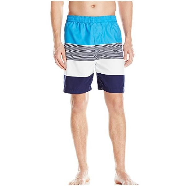 Swim Trunk - Blue Stripe