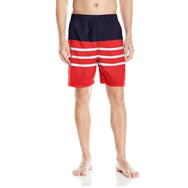 Swim Trunk - Red Stripe