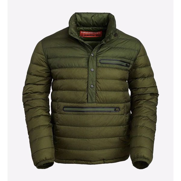 Puffer Popover Kango Olive/Green Jacket
