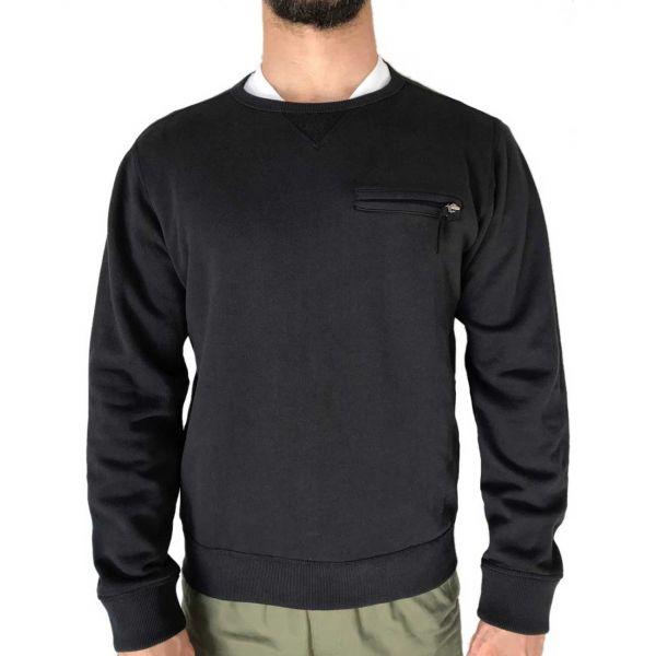 KNIT CREWNECK SWEATSHIRT