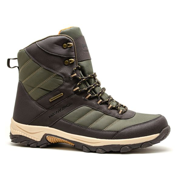 CARIBOU BOOT - BROWN OLIVE