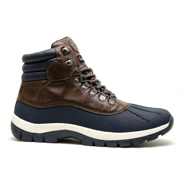 CONNOR BOOT - BROWN NAVY