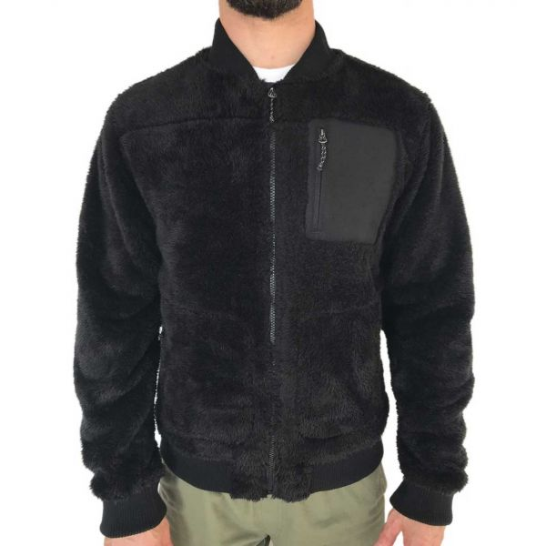 FLEECE FULL-ZIP BOMBER