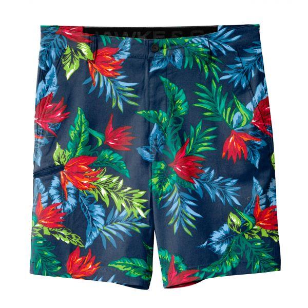 Floral Hybrid Stretch Shorts