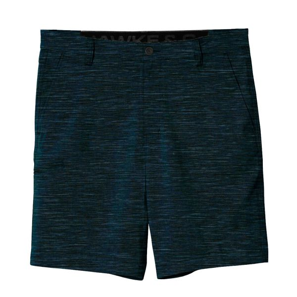 Heather Navy Performance Flex Shorts