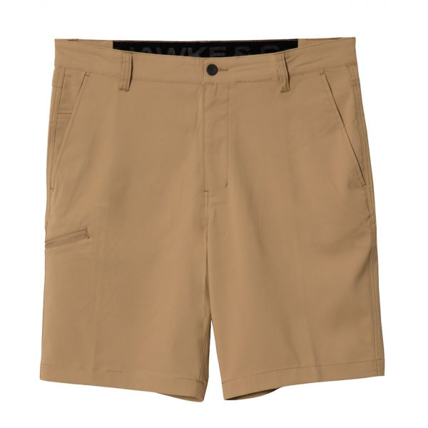 Khaki Hybrid Stretch Shorts