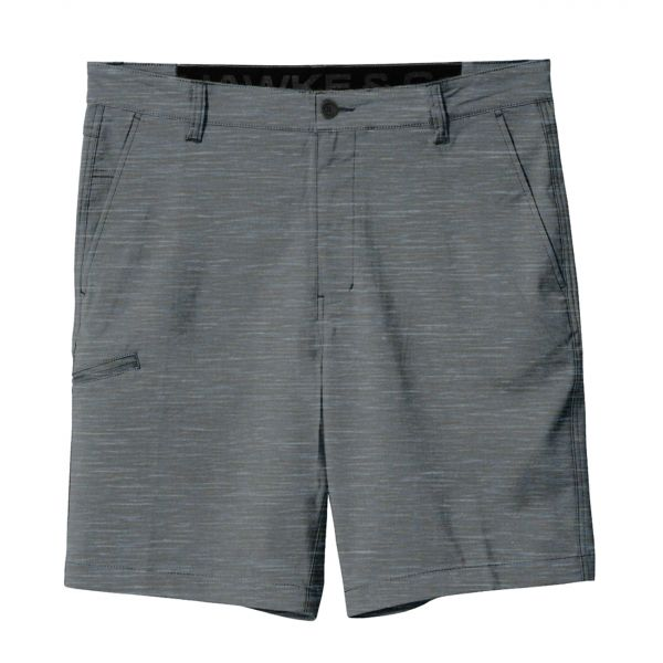 Heather Grey Hybrid Stretch Shorts