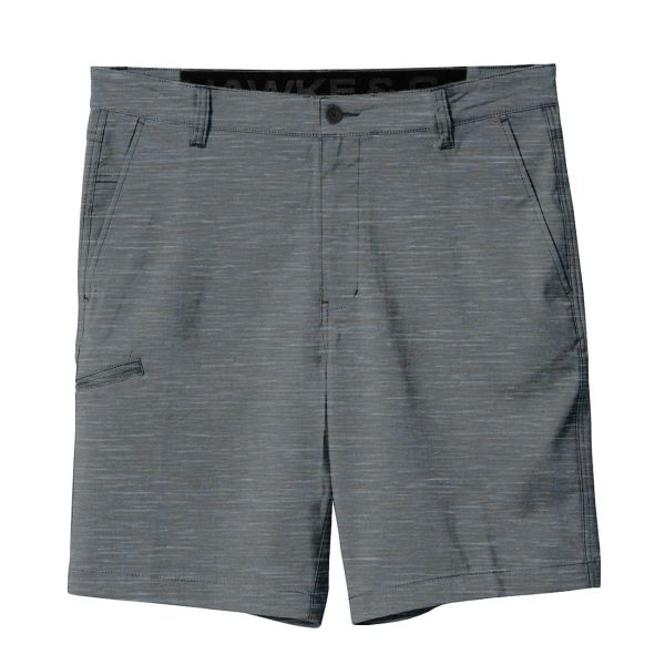 Heather Grey Performance Flex Shorts