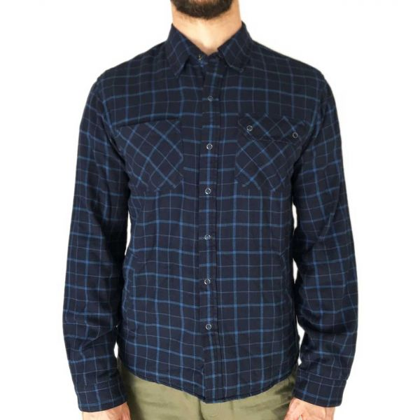 Jersey-lined Flannel Workshirt